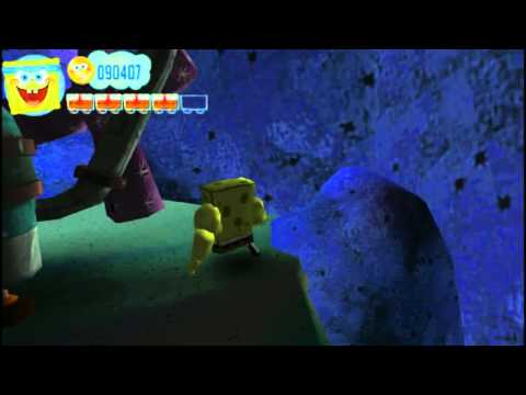 SpongeBob's Truth or Square PSP Glitch - Fun Times Jellyfishing With Patrick Shortcut