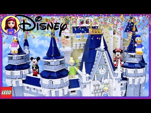 The Disney Castle Lego Part 2 Build Review Silly Play - Kids Toys
