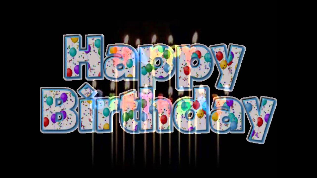 Favorito Tanti Auguri Di Buon Compleanno - YouTube SP66