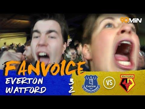 Everton 3-2 Watford | Baines last minute penalty gives Everton huge win! | 90min FanVoice