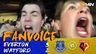 Everton 3-2 Watford | Baines last minute penalty gives Everton huge win! | 90min FanVoice