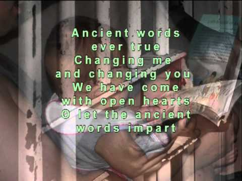Ancient Words - Michael W. Smith - With Background Words