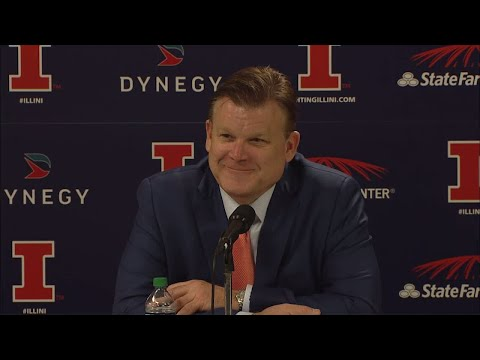 Illinois MBB Postgame Press Conference vs. Southern 11/10/17