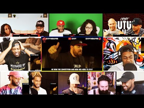 Crypt - YouTube Cypher Vol. 2 ft. Mac Lethal, Quadeca, ImDontail REACTIONS MASHUP
