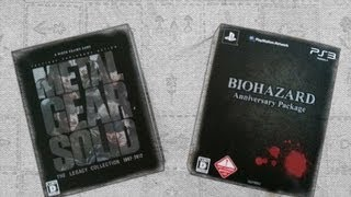 Unboxing MGS The Legacy e RE Anniversary Package
