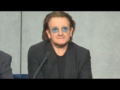 Bono y su reunión con el Papa
