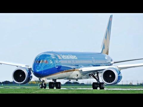 State Visit! Vietnam Airlines Boeing 787-9 [VN-A868] Departs Prague Airport