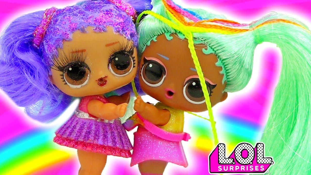 Витчи В ШОКЕ! Мария и Рэйнбоу стали лучшие подружки! Мультик куклы лол сюрприз LOL dolls