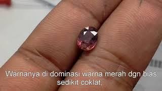 Safir - Ruby ID 26315o - Untreated 1.67 carat