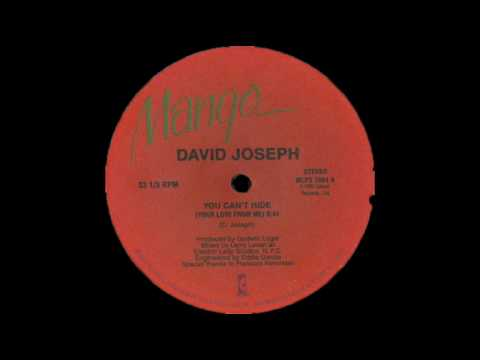 David Joseph - You Can't Hide (Your Love From Me) - Larry Levan Mix, 1983