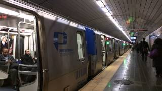 Newark Bound Train Of PA-5s @ Exchange Place [ PATH / Port Authority Trans-Hudson ]