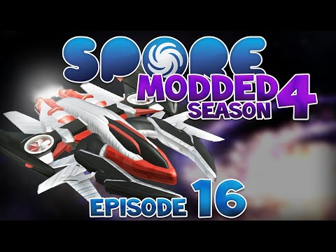 SPORE: Modded - SPACESHIP!! | Ep16 Season4 - Spore Space Stage