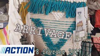 ARRIVAGE ACTION - 8 FEVRIER 2019