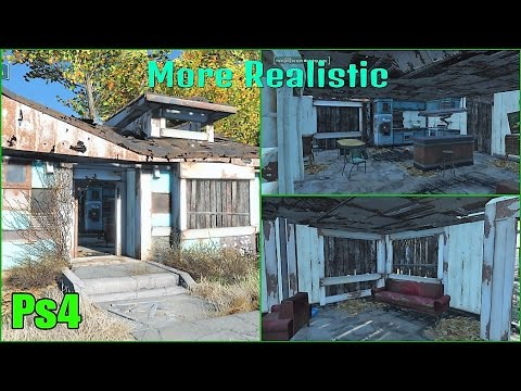 Repaired sanctuary houses fallout 4 mods ps4 how it for Fallout 4 interior decorating