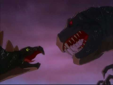 Disney's Fantasia (1940) T-Rex vs. Stegosaurus Dinosaur Battle letöltés