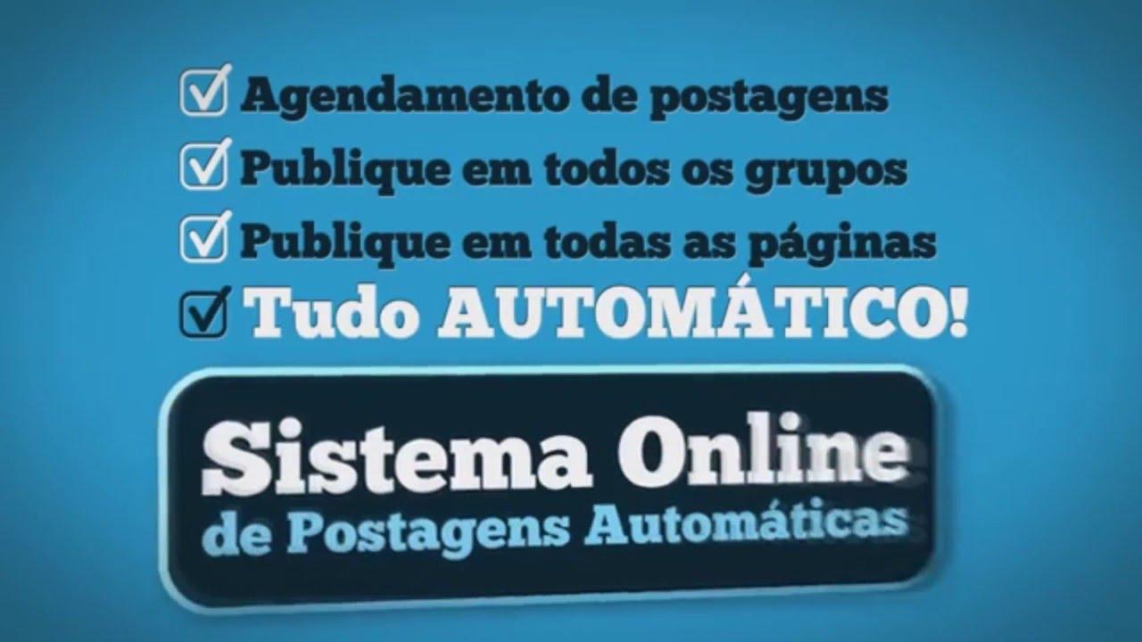 APRESENTAÇÃO AUTO FACE POSTAGENS AUTOMÁTICAS EM GRUPOS DO FACEBOOK