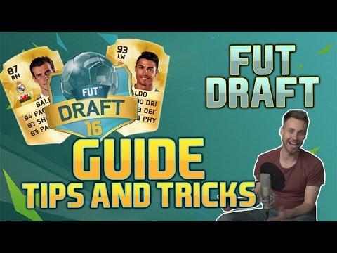 FIFA 16 FUT DRAFT GUIDE   Top 10 Tips & Tricks for FUT Draft   [FIFA 16 FUT Draft Tutorial English]