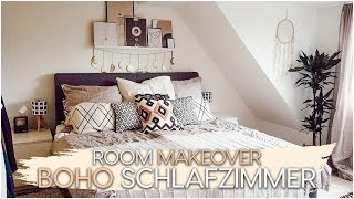 Boho Schlafzimmer Makeover