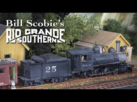 TrainMasters TV preview - Bill Scobie's Rio Grande Southern