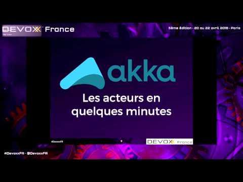Stream processing avec les acteurs AKKA (French)