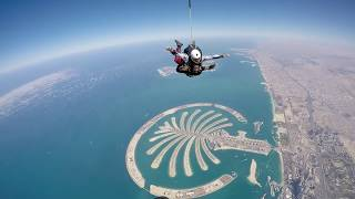 Skydiving in Dubai -My first Skydive ...!!! Feb 2016