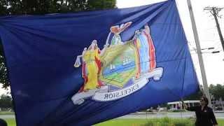 New York State Flag by SaratogaFlag.com