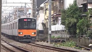 東武50070系51075F白楽カーブ通過