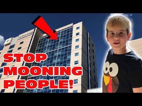 Kid Temper Tantrum Mooning From A 15Story Building During Hospital Visit  Original