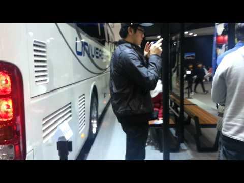 Hyundai Universe Bus at Seoul Motor Show 2015