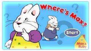 Max & Ruby - Where's Max ? - Max & Ruby Games