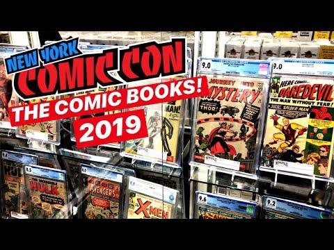New York Comic Con 2019: THE COMIC BOOKS!