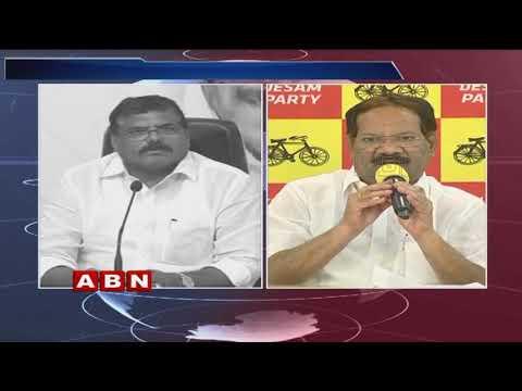 War Of Words Between AP Minister Botsa Satyanarayana Vs TDP Leader Nakka Anand Babu  | ABN Telugu teluguvoice