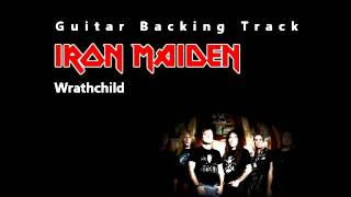 Iron Maiden - Wrathchild (Guitar - Backing Track) w/ Vocals