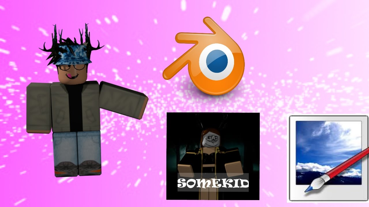 How To Make A Roblox Profile Picture Blender Youtube