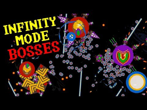 BOSSES in INFINITY mode! How strong? /...