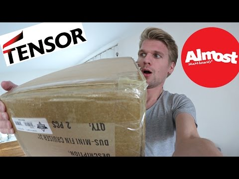 Almost Skateboards - UNBOXING CHALLENGE