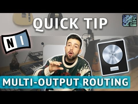 Quick Tip #2: Multi Output Routing - Native Instruments Battery  (IN LOGIC PRO X)