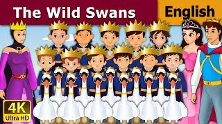 The Wild Swans in English - Fairy Tales - Bedtime Stories - 4K UHD - English Fairy Tales