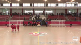DIRECTO: Fútbol Sala. FSD Puertollano - FS Valdepeñas. Castilla - La Mancha Media.