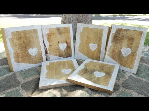 How to make Decor signs: AZ Signs DIY wood signs