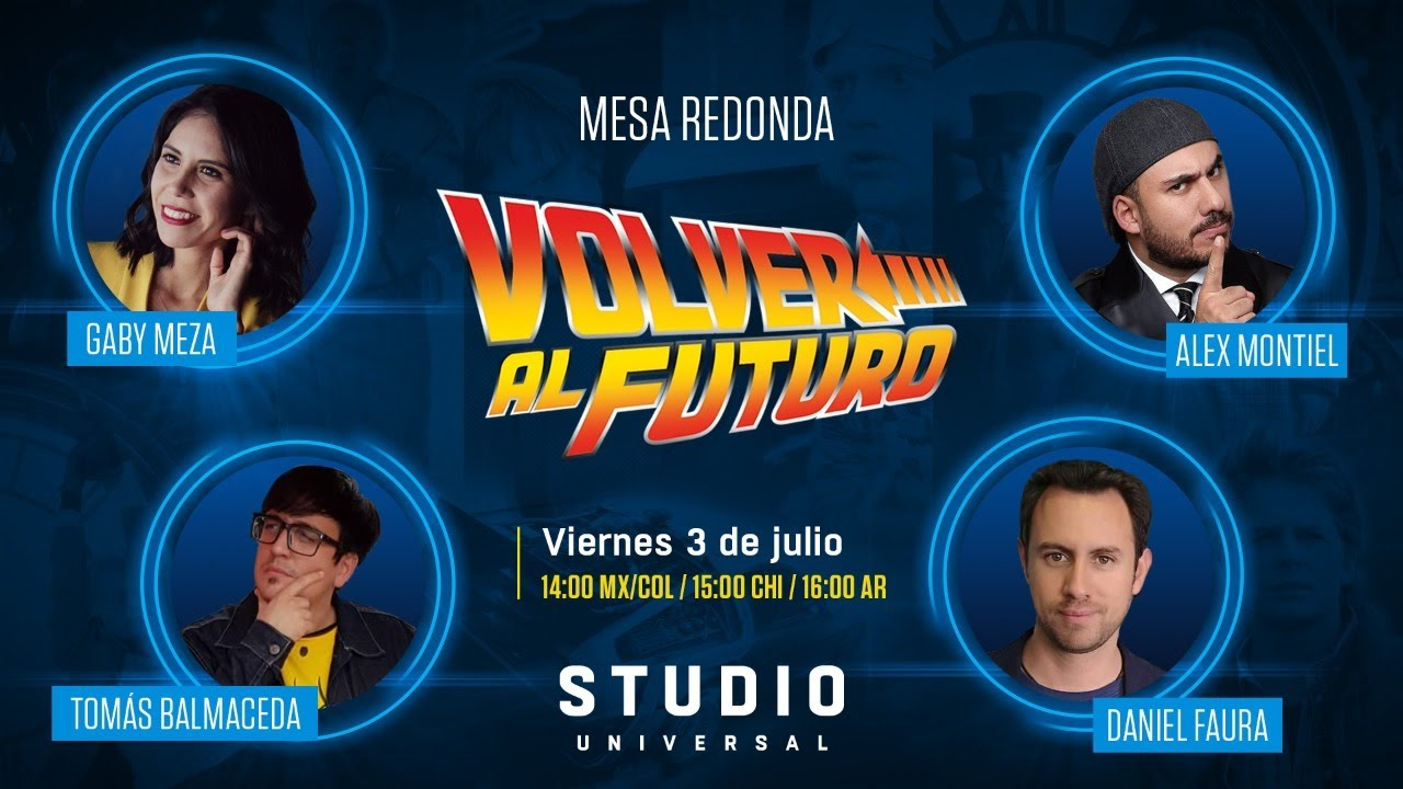 """""""Volver al Futuro. 35 años"""" Mesa redonda"""
