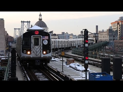 New York City Subway: BMT Jamaica and Myrtle Avenue Lines