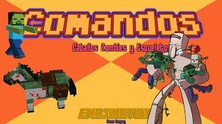 Tutorial Comandos| Spawn Caballos Esqueleto y Zombie| EmaJinaTion