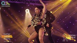 Charlie Garcia & Tania Cannarsa  - Salsa Show | Warsaw Salsa Festival 2018