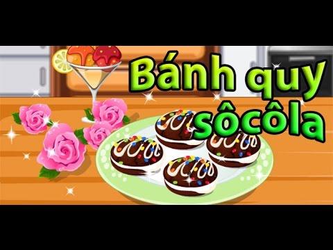 Game bánh quy socola – Guide play Chocolate cookies Game