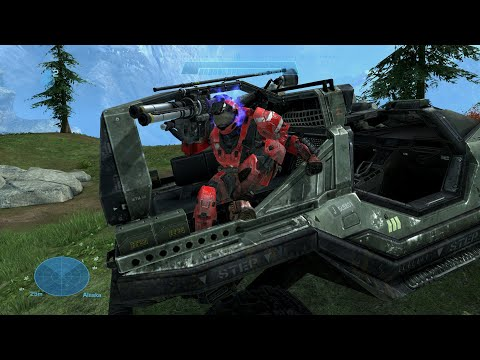 Halo Reach MCC PC Functional Transport Warthog Mod (download in description)