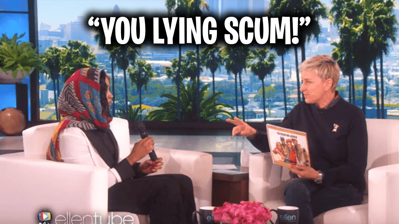 Watch Ellen Piss Off This Guest...