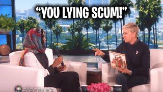 Watch Ellen Piss Off This Guest...