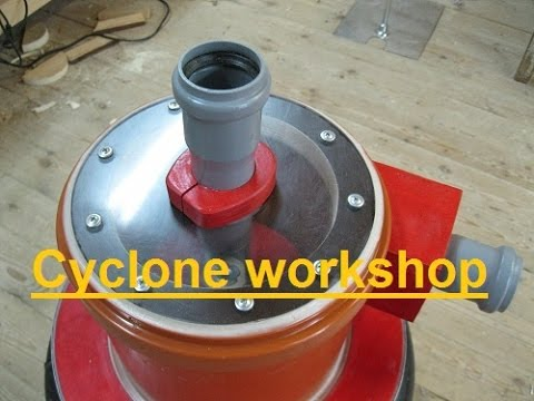 Циклон для мастерской. Cyclone Workshop (part 1/2)