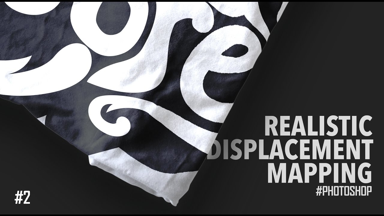 Realistic Displacement Mapping | Photoshop Tutorial | T-Shirt MockUp on